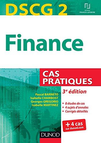 9782100721702: DSCG 2 - Finance - 3e édition - Cas pratiques
