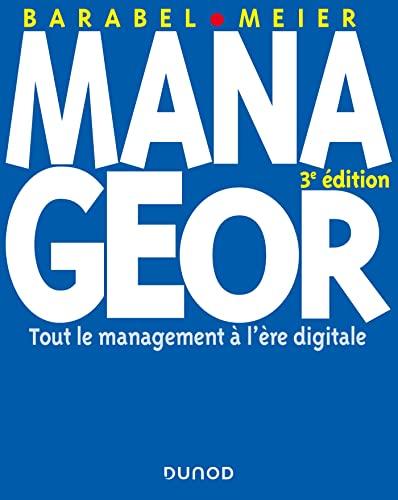 9782100722464: Manageor - 3e édition - Tout le management à l'ère digitale (Livres en Or)