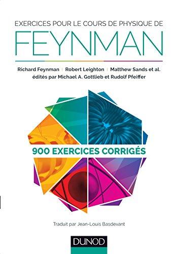 Exercices pour le cours de physique de: Richard Feynman