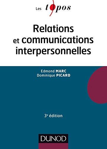 9782100738182: Relations et communications interpersonnelles - 3e éd