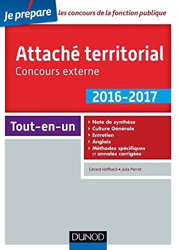 9782100742455: Attaché territorial-concours externe-catégorie A