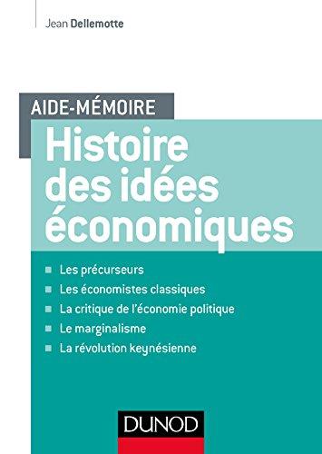 9782100754373: Aide-mémoire - Histoire des idées économiques
