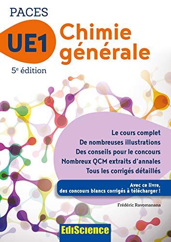 9782100763320: PACES UE1 Chimie générale - 5e éd.