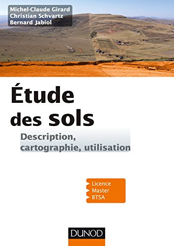 9782100767229: Etude des sols - Description, cartographie, utilisation