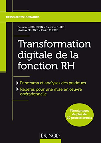 9782100767595: Transformation digitale de la fonction RH