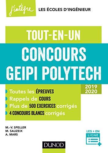 9782100769704: Concours Geipi Polytech - Tout-en-un 2019-2020: Tout-en-un 2019-2020 (2019-2020)