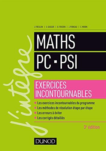 9782100776627: Maths PC-PSI - Exercices incontournables - 3éd.