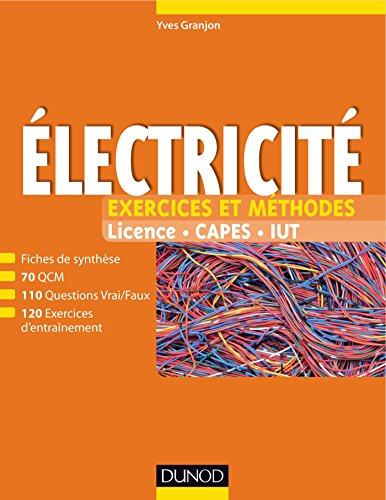 9782100776887: Electricité - Exercices et méthodes: Exercices et méthodes