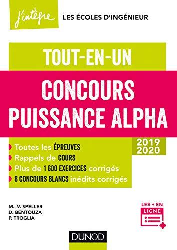 9782100784424: Concours Puissance Alpha - Tout-en-un - 2019-2020: Tout-en-un - 2019-2020 (2019-2020)