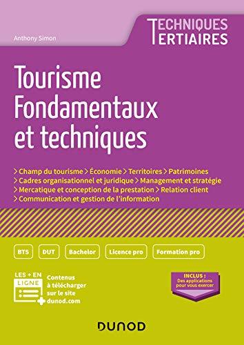 9782100790272: Tourisme - Fondamentaux et techniques