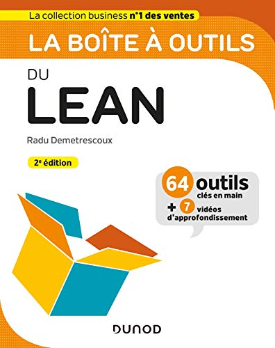9782100791422: La boîte à outils du Lean - 2e éd.