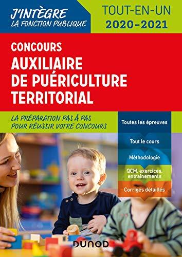 9782100794140: Concours Auxiliaire de puériculture territorial 2020-2021 - Tout-en-un: Tout-en-un (2020-2021)