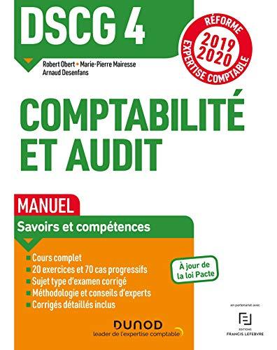 9782100794713: DSCG 4 Comptabilité et audit - Manuel - Réforme 2019-2020: Réforme Expertise comptable 2019-2020 (2019-2020)