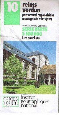 9782110001078: Reims Verdun (IGN Green)