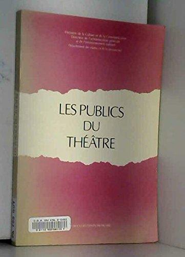 Les publics du théâtre : Fréquentation et