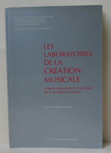 Laboratoires de la creation musicale [Oct 16, 1997] Menger P.