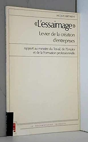 Essaimage, levier de la création d'entreprises: J. Bertherat