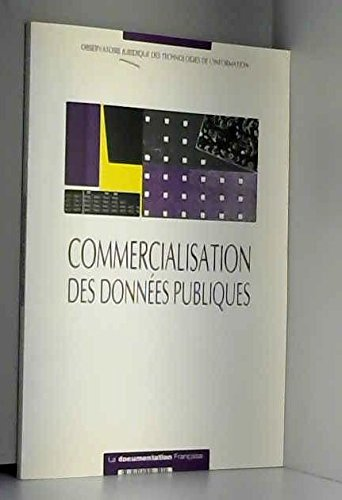 9782110028501: Commercialisation des donnees publiques