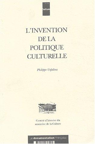 9782110036001: L'invention de la politique culturelle