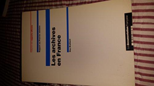 9782110036070: Les archives en France