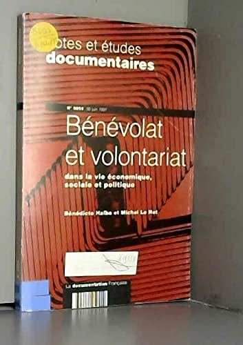 9782110037664: Bénévolat et volontariat dans la vie économique, sociale et politique