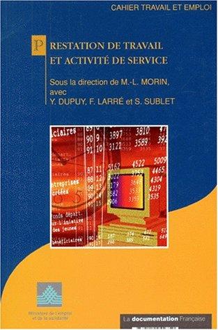 9782110042750: Prestation de travail et activité de service