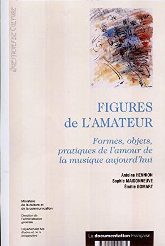 9782110047281: Figures de l'amateur : formes, objets, pratiques de l'amour de la musique aujourd'hui