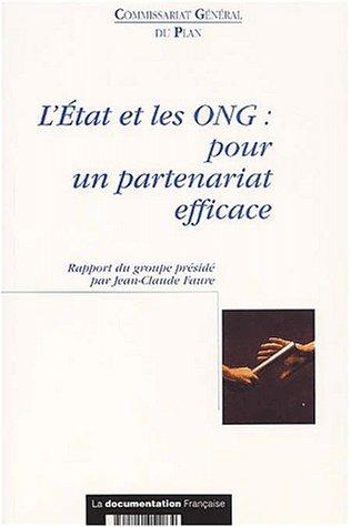 9782110051264: L'etat et les ong : pour un partenariat efficace