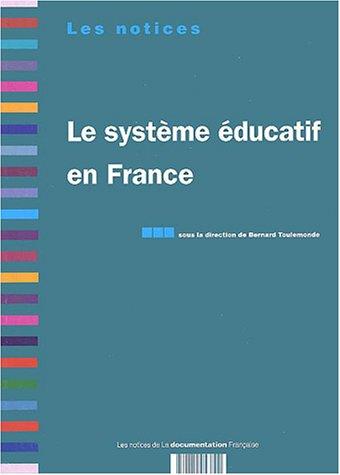 9782110053800: Le syst�me �ducatif en France