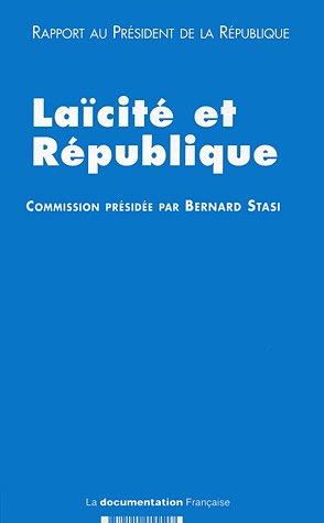 9782110055507: Laïcité et République : Rapport au Président de la République