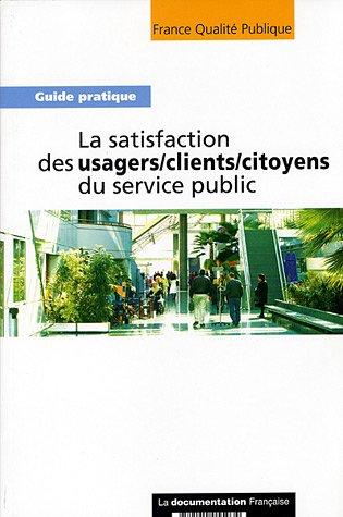 SATISFACTION DES USAGERS - LA - CLIENTS: COLLECTIF