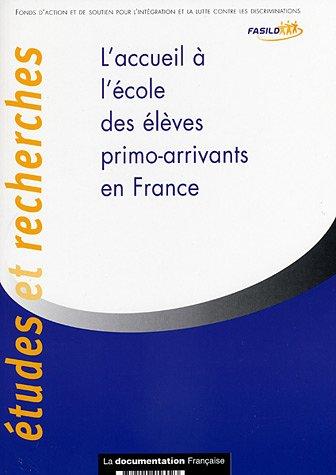 9782110056023: L'accueil à l'école des élèves primo-arrivants en France