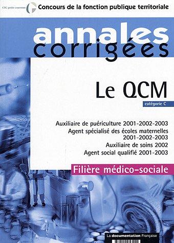 9782110057211: Le QCM : Catégorie C, filière médico-sociale