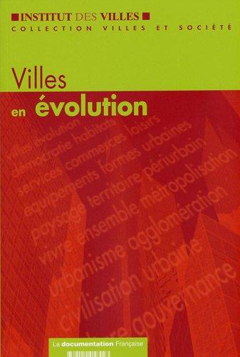 Villes en évolution.: Chapuis,J.-Y. Chalas,Y. Ascher,F. L�vy,J. Jaillet,M.C. et al.