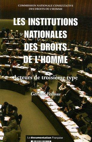 9782110060877: Les institutions nationales des droits de l'homme : Acteurs de trsoisème type