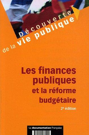 FINANCES PUBLIQUES ET LA REFORME 2E EDIT: ARKWRIGHT BOEUF