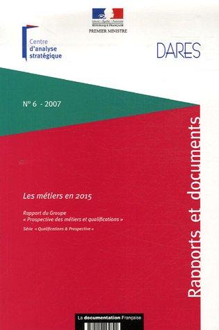 METIERS EN 2015 -LES-: FRANCE