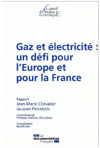 GAZ ET ELECTRICITE : UN DEFI POUR L'EURO: CHEVALIER/PRECEBOIS