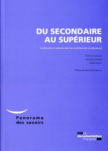 DU SECONDAIRE AU SUPERIEUR: COLLECTIF
