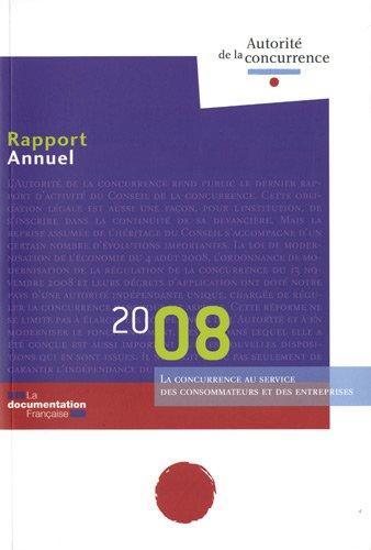 rapport annuel 2008 de l'autorité de la concurrence: Autorité de la concurrence