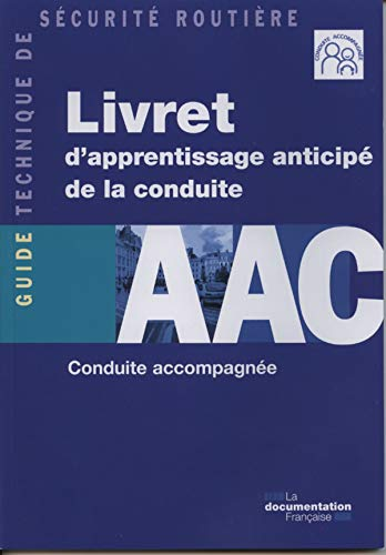 9782110078384: Livret d'apprentissage anticipé de la conduite - AAC - Conduite accompagnée