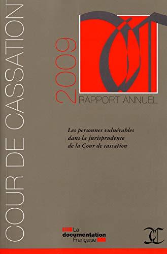 9782110078933: Rapport annuel 2009 - cour de cassation