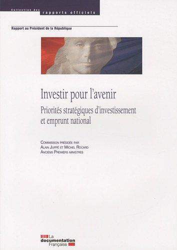 9782110079893: Investir pour l'avenir (French Edition)