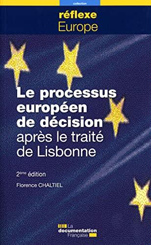 9782110081094: Le processus européen de décision après le traité de Lisbonne