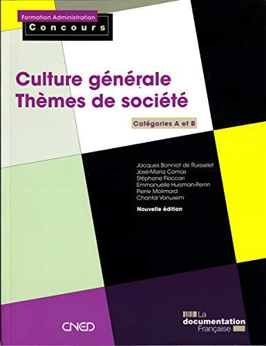 9782110086495: Culture generale - Themes de societe (French Edition)