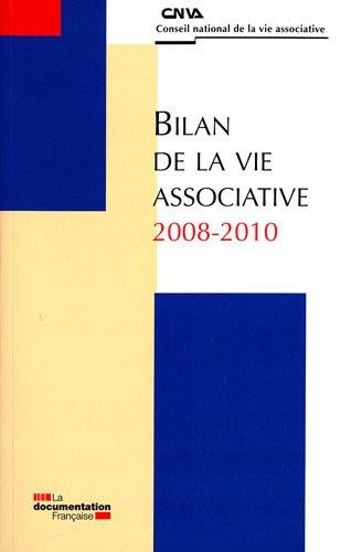 Bilan de la vie associative 2008-2010