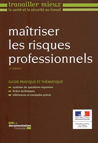 9782110087201: maîtriser les risques professionnels (2e édition)