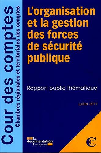 9782110087584: L'organisation et la gestion des forces de s�curit� publique