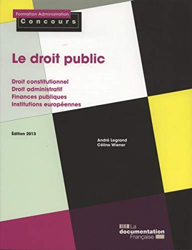 9782110092052: Le droit public