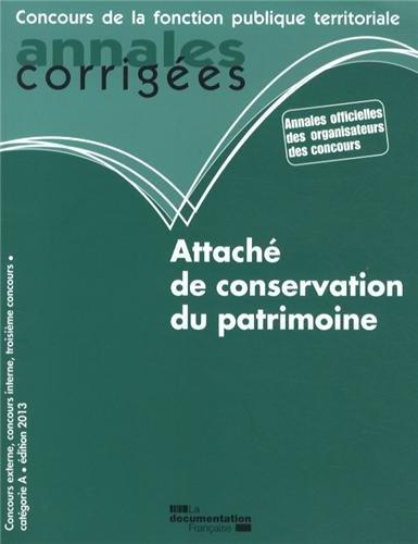 Attaché de conservation du patrimoine 2013 - Concours catégorie A: Patricia Méchain
